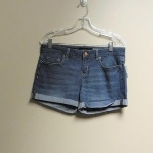 Women's MIDI Aeropostale Denim Shorts Size 8